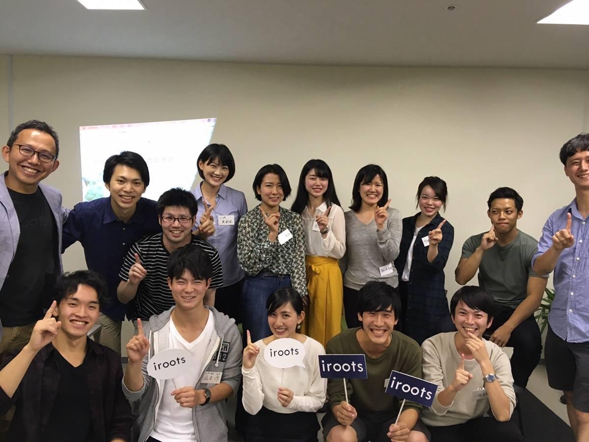 田中さんとの集合写真